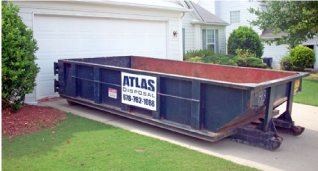 12yd Dumpster Per Haul 2 Tons Included In Price 14 Day Rental Atlas Disposal